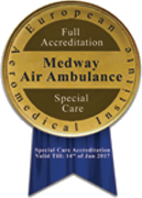 Medway Air Ambulance – Full Accreditation Special Care
